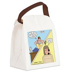 Customer No Service Canvas Lunch Bag
