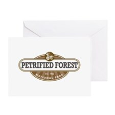 Petrified Forest National Park Greeting Cards