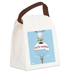 Chute Happens Canvas Lunch Bag