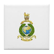 Royal Marines Tile Coaster