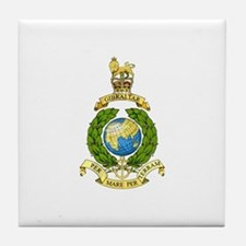Royal Marines Tile Coaster