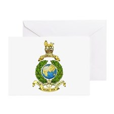 Royal Marines Greeting Cards (Pk of 10)