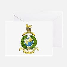 Royal Marines Greeting Cards (Pk of 10)