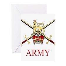 British Army Greeting Cards (Pk of 10)