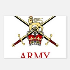 British Army Postcards (Package of 8)