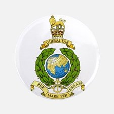 Royal Marines 3.5&Quot; Button