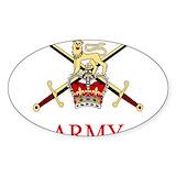 British army Bumper Stickers