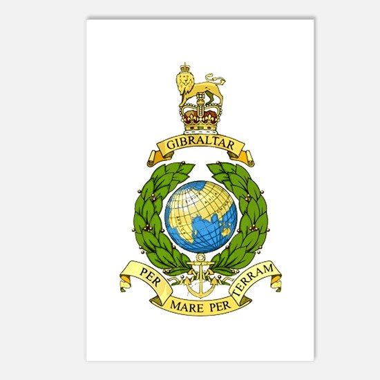 Royal Marines Postcards (Package of 8)