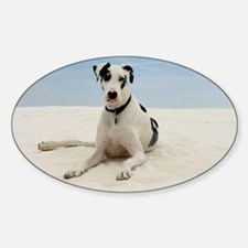 GD beach framed print Decal