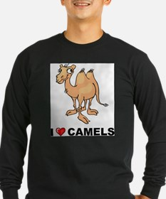I Love Camels Long Sleeve T-Shirt