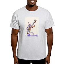Sharyl Toons Bass & Guitar duo Ash Grey T-Shirt