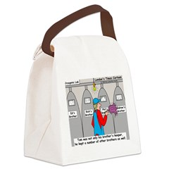 Brothers Keeper Canvas Lunch Bag