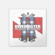Divemaster (Scuba Tanks) Sticker