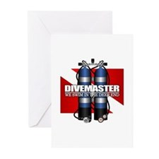 Divemaster (Scuba Tanks) Greeting Cards