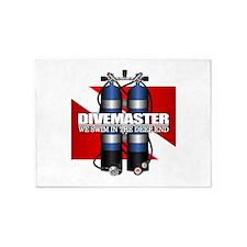 Divemaster (Scuba Tanks) 5'x7'Area Rug