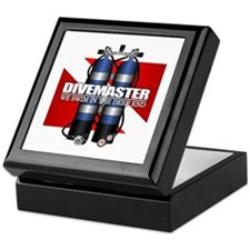 Divemaster (Scuba Tanks) Keepsake Box
