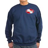 Scuba diving Sweatshirt (dark)