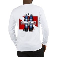Divemaster (Scuba Tanks) Long Sleeve T-Shirt