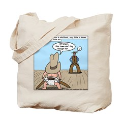 Billy the Kid Baby Tote Bag