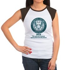 The NSA Women's Cap Sleeve T-Shirt