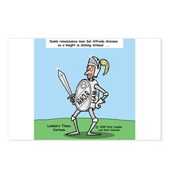 Suit of Armor Postcards (Package of 8)