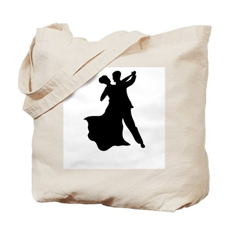 Dancing Couple Tote Bag