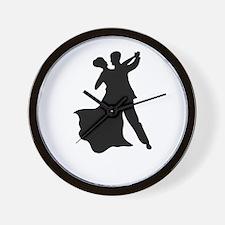 Dancing Couple Wall Clock