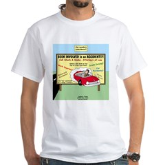 Accident Law Firm Billboard White T-Shirt