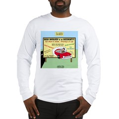Accident Law Firm Billboard Long Sleeve T-Shirt