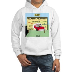 Accident Law Firm Billboard Hoodie