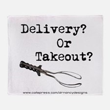 Delivery or Takeout final copy.png Throw Blanket