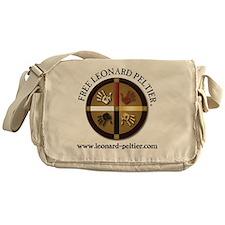 Free Leonard Peltier Messenger Bag