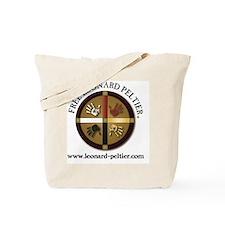 Free Leonard Peltier Tote Bag