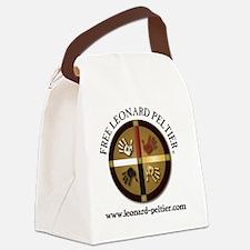 Free Leonard Peltier Canvas Lunch Bag