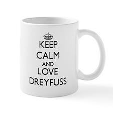 Keep calm and love Dreyfuss Mugs