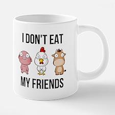 I Don't Eat My Friends - Vegan / Vegetari Mugs