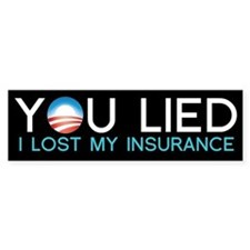 Obama Lied Bumper Bumper Sticker