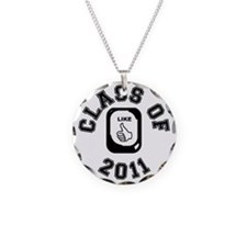 CLASS OF 2011 LIKE CIRCLE Necklace Circle Charm