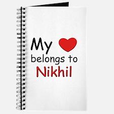 My heart belongs to nikhil Journal