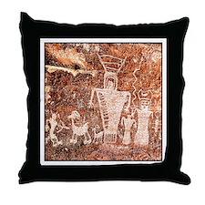 ANCIENT ASTRONAUTS Throw Pillow