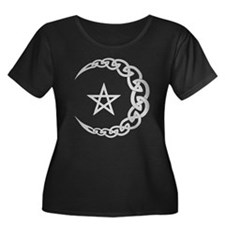 Celtic Moon Plus Size T-Shirt