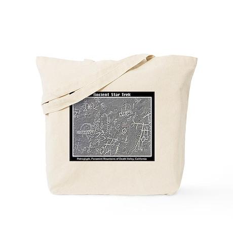 DEATH VALLEY PETROGLYPH Tote Bag
