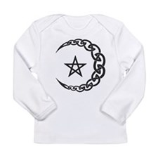 Celtic Moon Long Sleeve T-Shirt