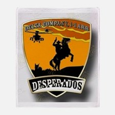 Desperados Patch Throw Blanket