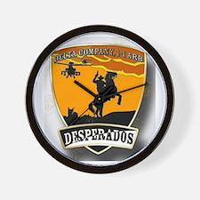 Desperados Patch Wall Clock
