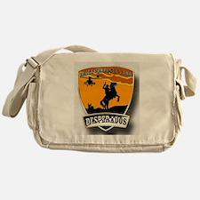 Desperados Patch Messenger Bag