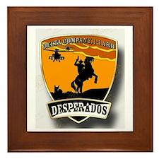 Desperados Patch Framed Tile