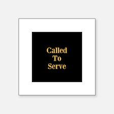 Called To Serve Tie Clip Sticker