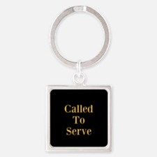 Called To Serve Tie Clip Keychains