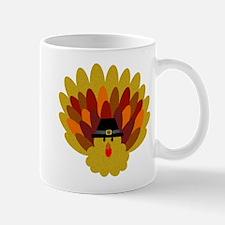 Happy Thanksgiving Turkey Mugs